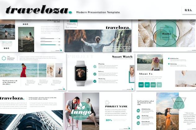 Traveloza - Google Slides