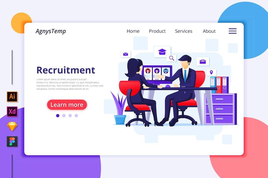Agnytemp - Recruitment Illustration v4