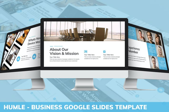 Thumbnail for Humle - Business Google Slides Template