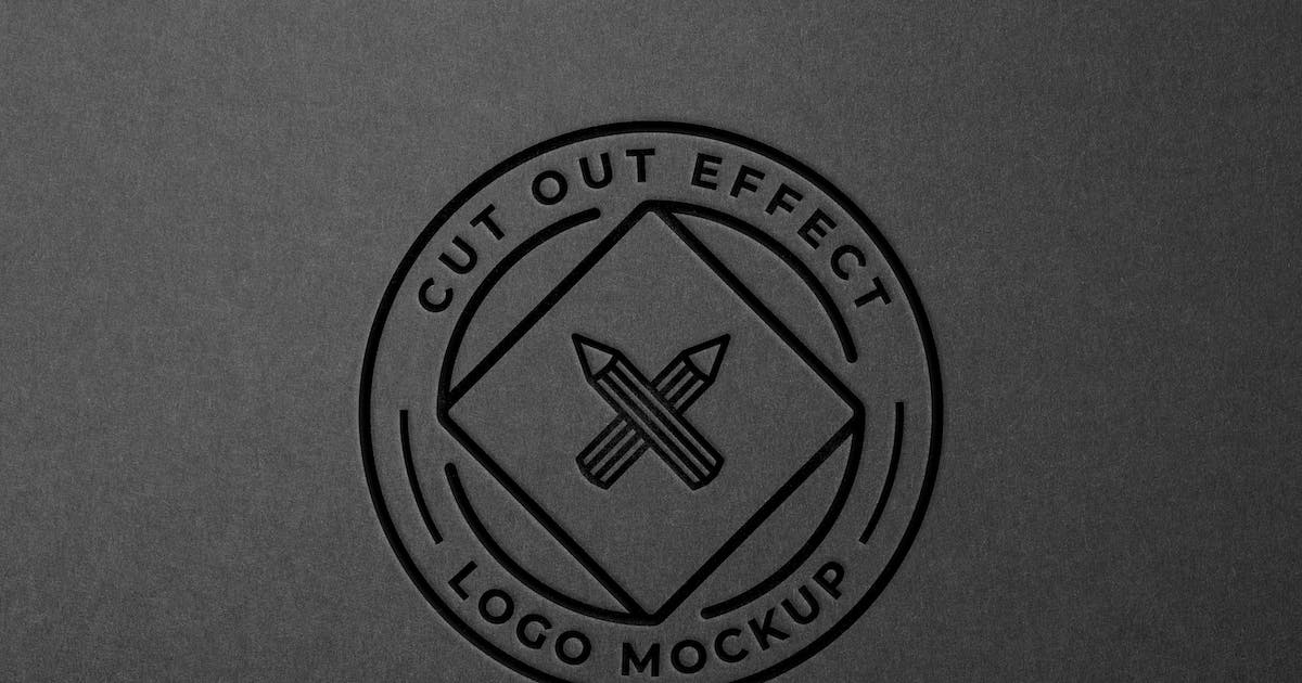 Download Paper Cut Out Logo Mockup by pixelbuddha_graphic