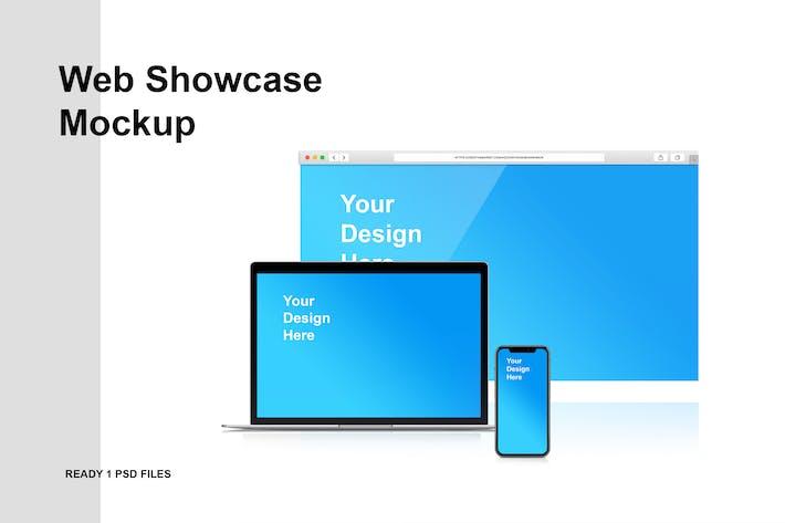 Cover Image For Web Showcase Mockup