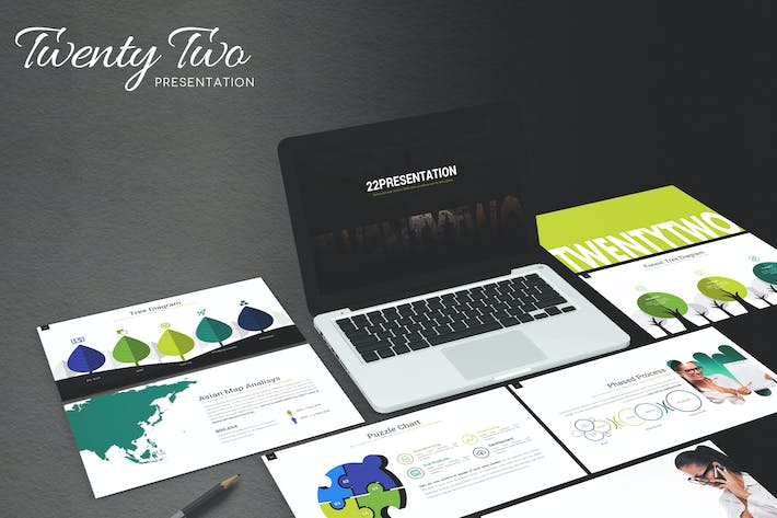 Thumbnail for Twenty Two - Powerpoint Template