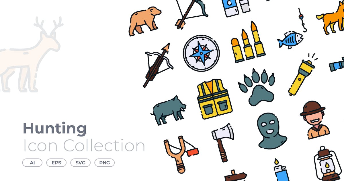 Download Hunting Filled Icon by GoodWare_Std