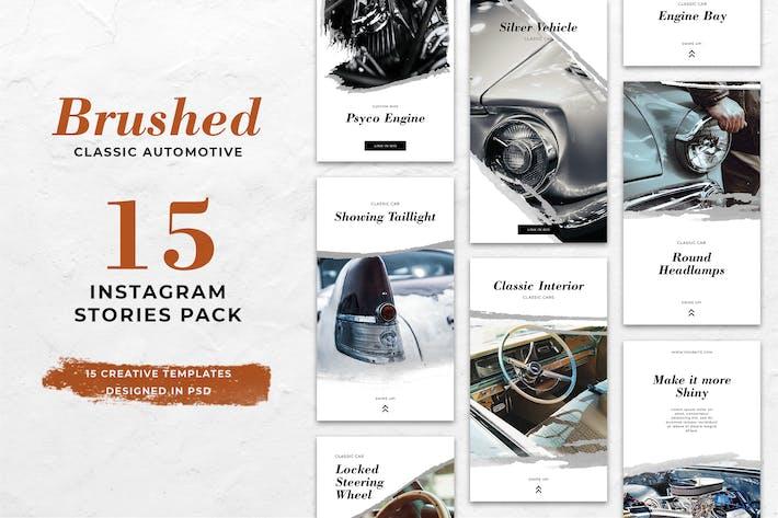 Thumbnail for Automotive Brush Instagram Stories