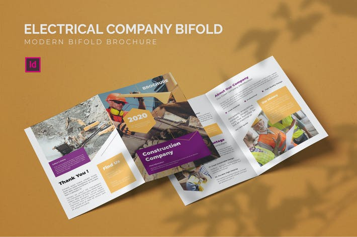 Electrical Company - Bifold Brochure