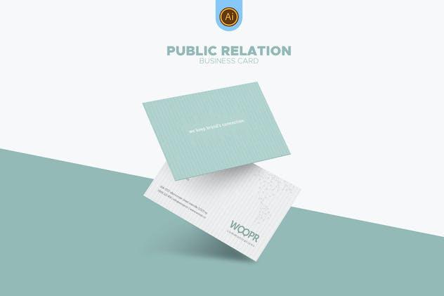 PR Marketing Business Card 04