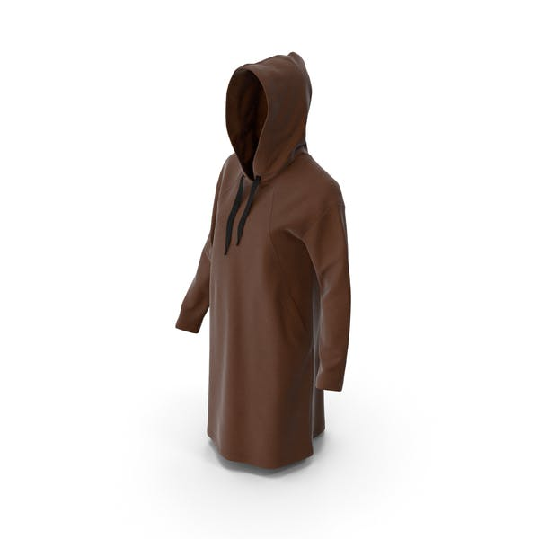 Women's Hoody Brown