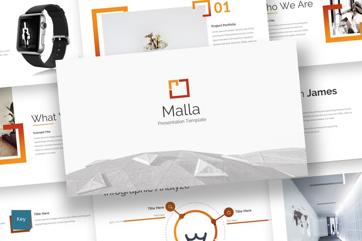Thumbnail for Malla - Keynote Template