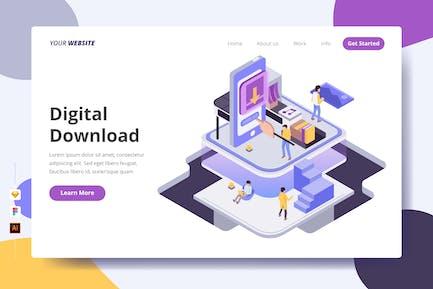 Digital Download - Landing Page