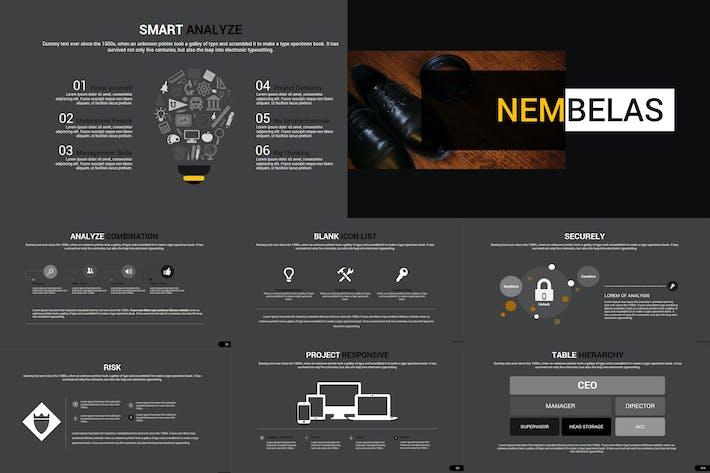 Thumbnail for Nembelas - Keynote Template