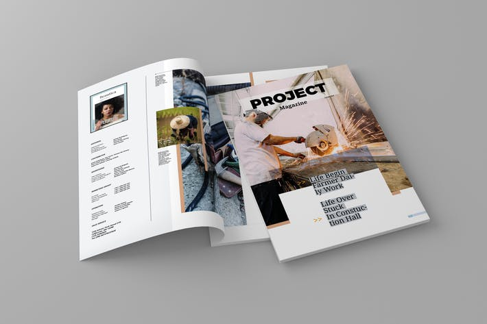 Thumbnail for Project - Magazine Template