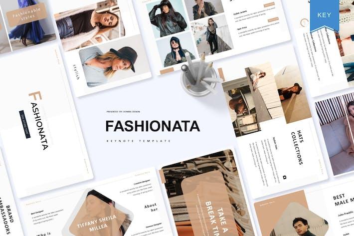 Thumbnail for Fashionata | Keynote Template