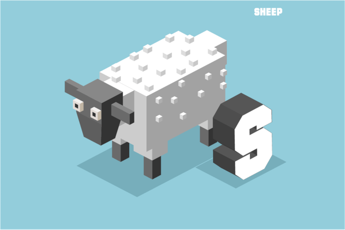 Thumbnail for S for sheep, Animal Alphabet