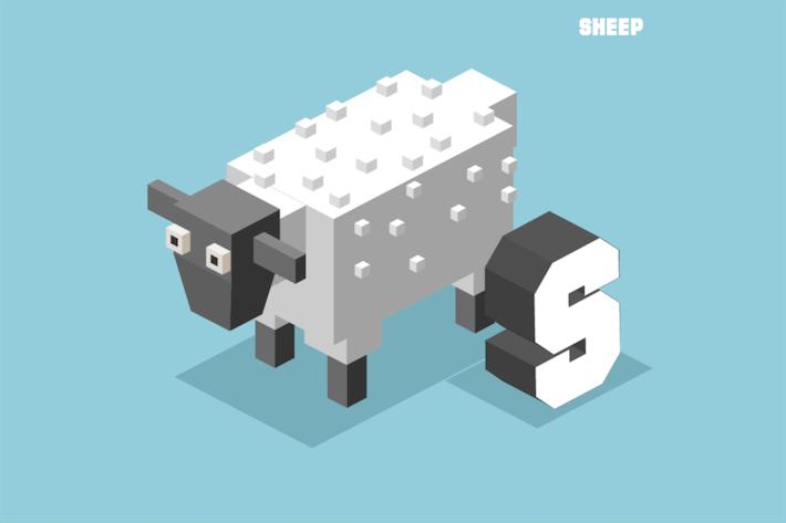 Thumbnail for S für Schafe, Tieralphabet