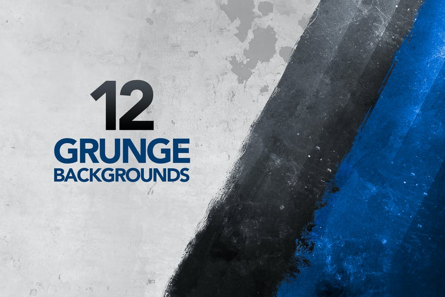 12 Painted Grunge Backgrounds