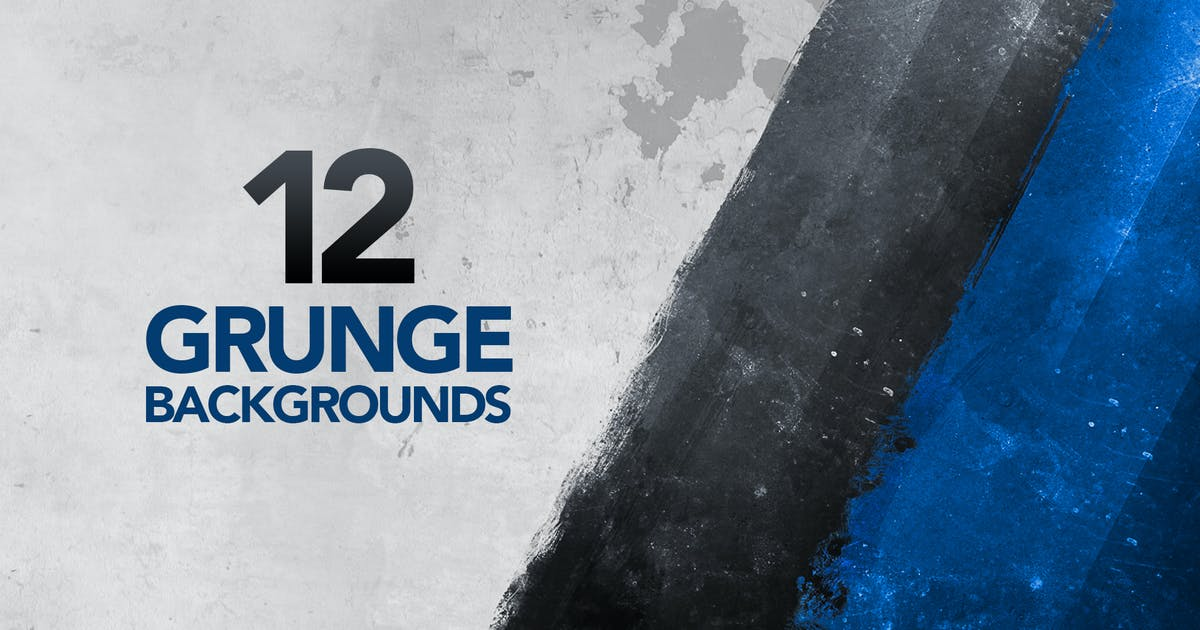 12 Painted Grunge Backgrounds by Unknow