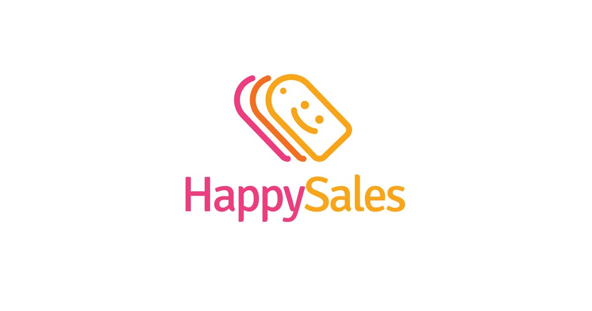 Download Happy sales logo template by Be_Themes