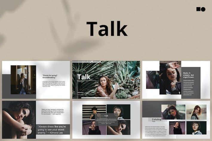 Thumbnail for Talk - Powerpoint