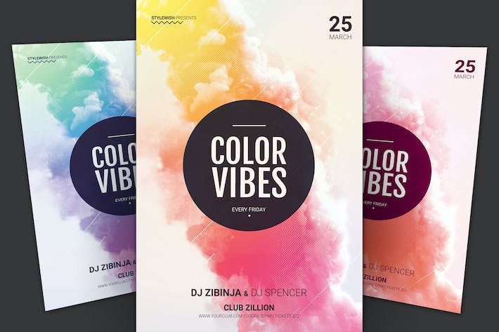 Thumbnail for Color Vibes Flyer