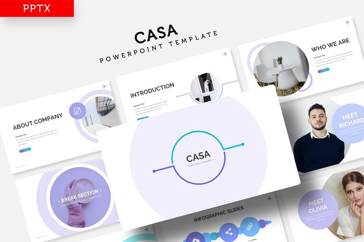 Thumbnail for Casa - Power Point Template