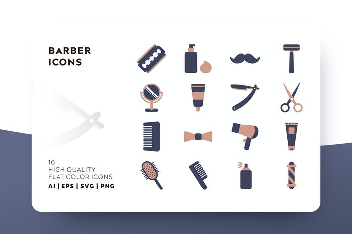 Thumbnail for BARBER FLAT COLOR