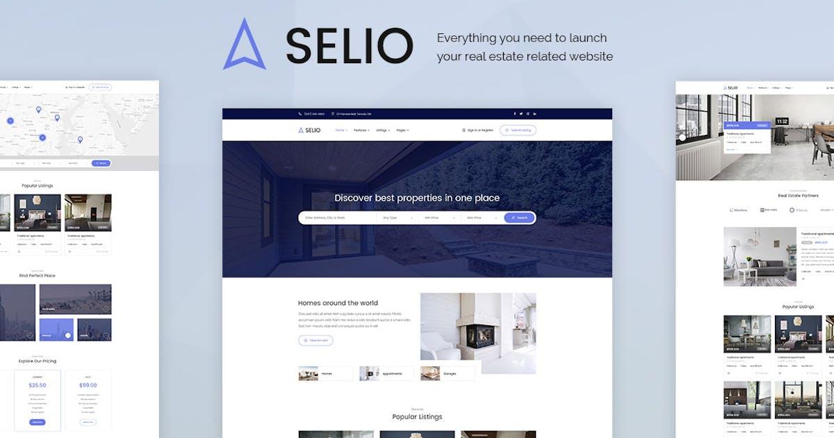 Download Selio - Real Estate PSD Template by sanljiljan