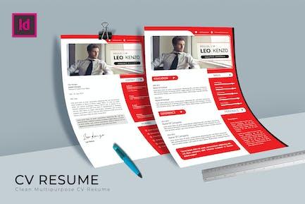 Etsy CV Resume Template