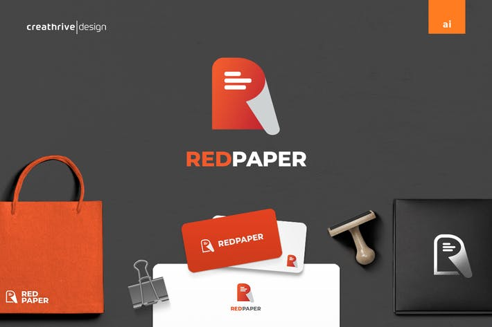 Thumbnail for Red Paper Logo