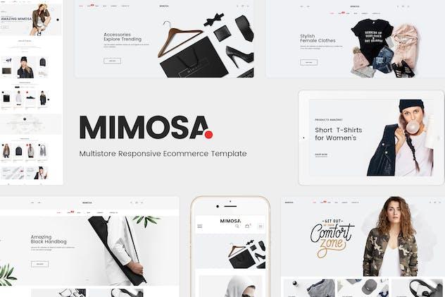Mimosa - Responsive Fashion Magento 2 Theme