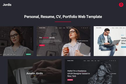 Jordis - Personal, CV, Resume, Portfolio