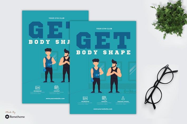 Thumbnail for Get Body Shape - Creative Flyer GR
