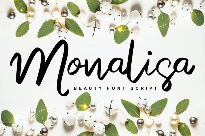 Thumbnail for Monalisa | Script de beauté manuscrit
