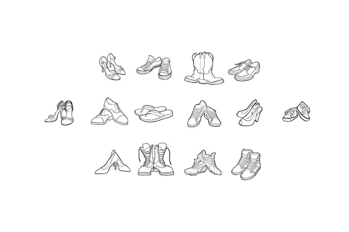 Thumbnail for 14 Shoes Collection