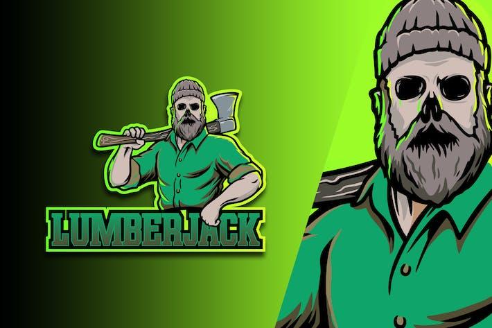 Lumber Jack Esport Logo Vol. 2