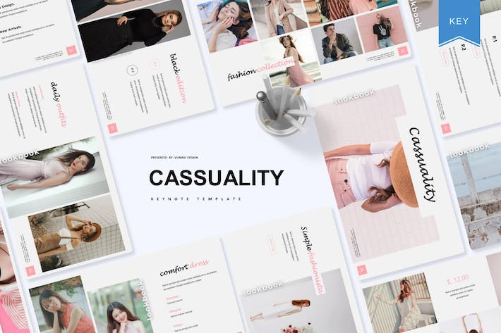Thumbnail for Casssuality | Keynote Template