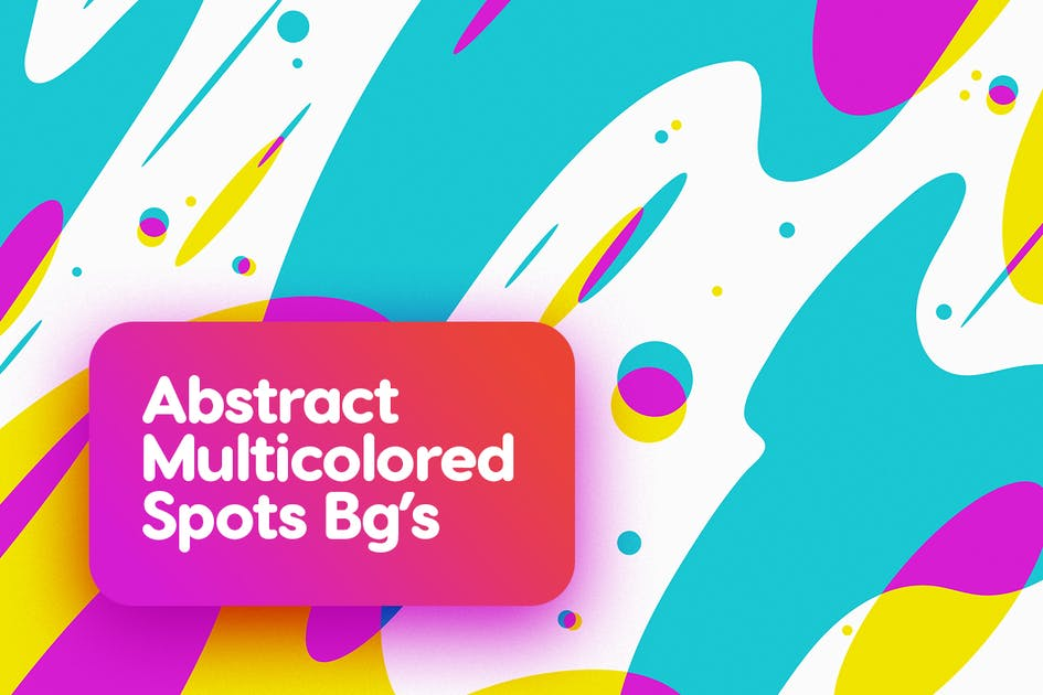 Download Multicolored Spots Backgrounds by themefire