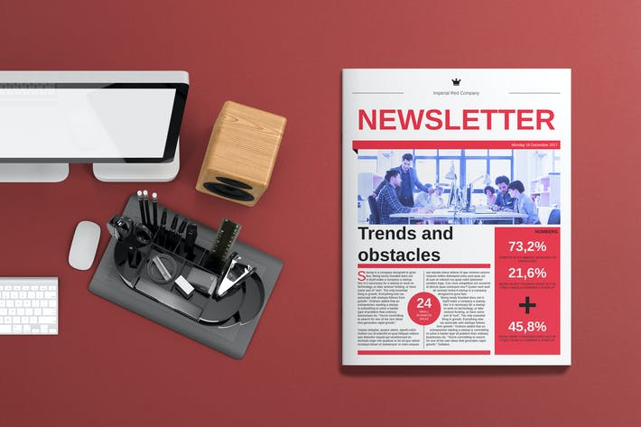 Cover Image For Corporate Newsletter
