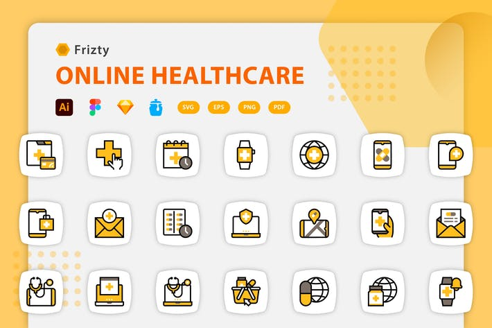 Fristy - Online Healthcare Icons