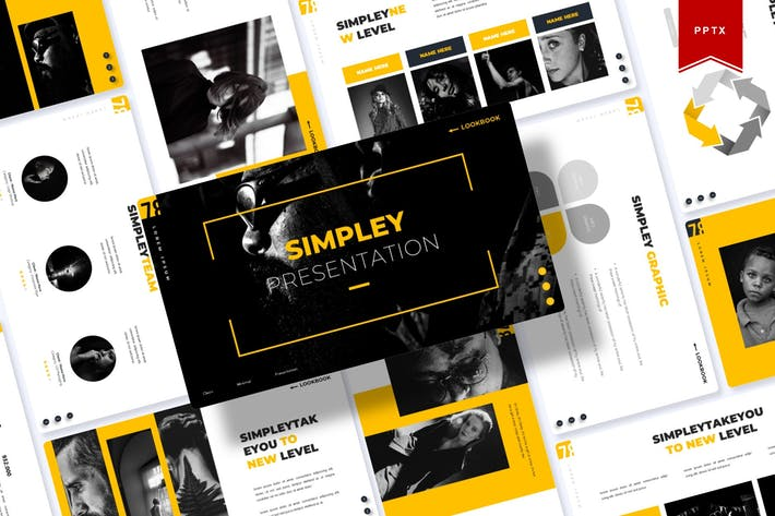 Thumbnail for Simpley | Powerpoint Template
