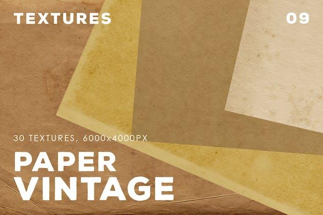30 Vintage Paper Textures | 09