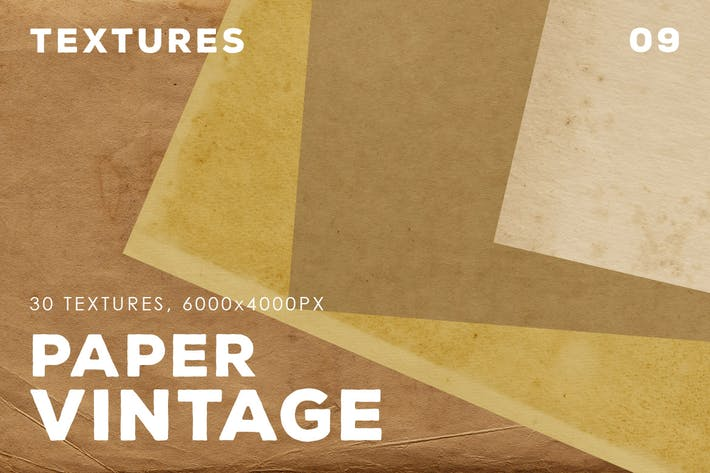 Thumbnail for 30 Vintage Paper Textures | 09