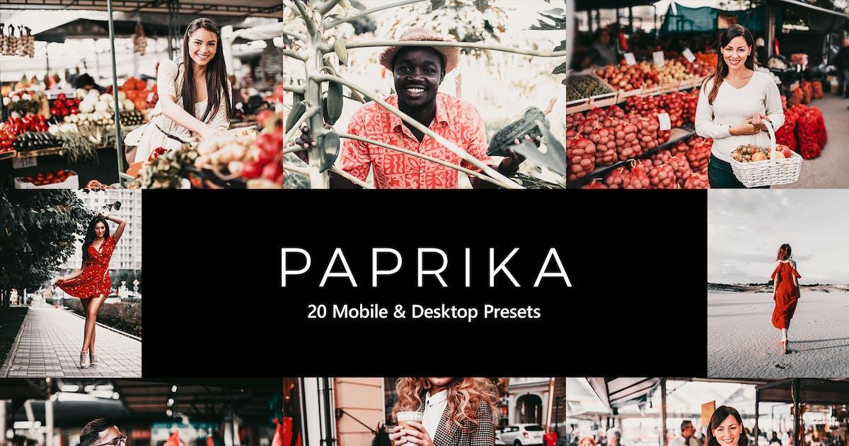 Download 20 Paprika Lightroom Presets & LUTs by sparklestock