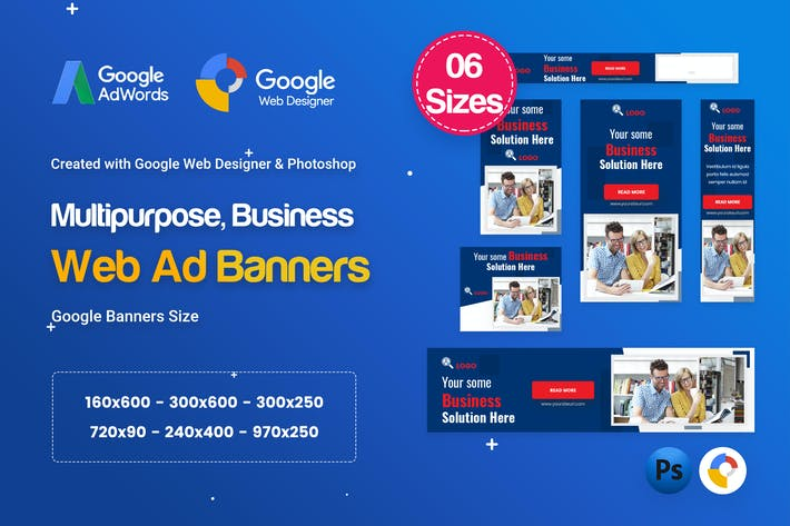 Thumbnail for Multi-Purpose Banners HTML5 D52 - GWD & PSD