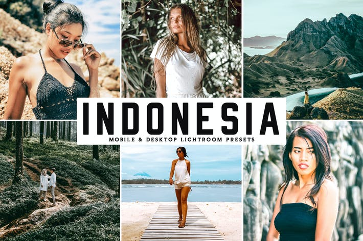 Thumbnail for Indonesia Mobile & Desktop Lightroom Presets