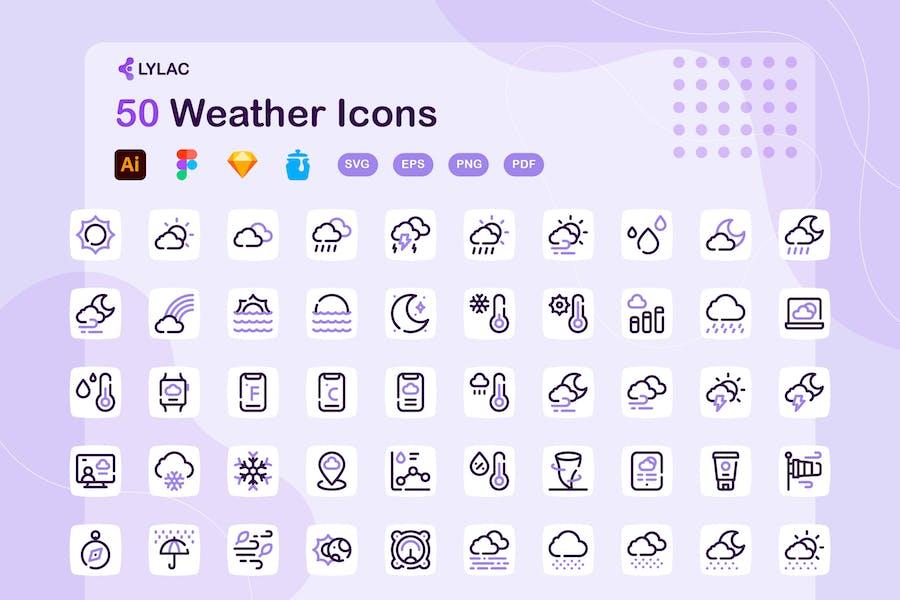 Lylac - Weather Icons