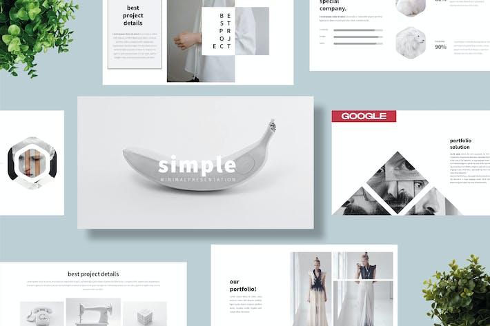 Простой бизнес-Шаблон Googleslide - LS