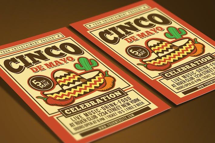 Thumbnail for Cinco De Mayo Celebration Flyer