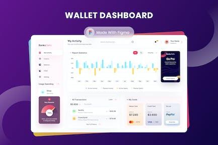 Wallet Dashboard - Sqtemp