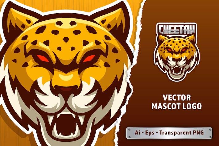 Cheetah E-sport Logo Template