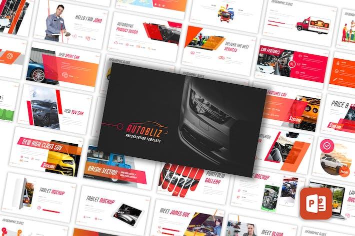 Thumbnail for Autobliz - Automotive PowerPoint Template